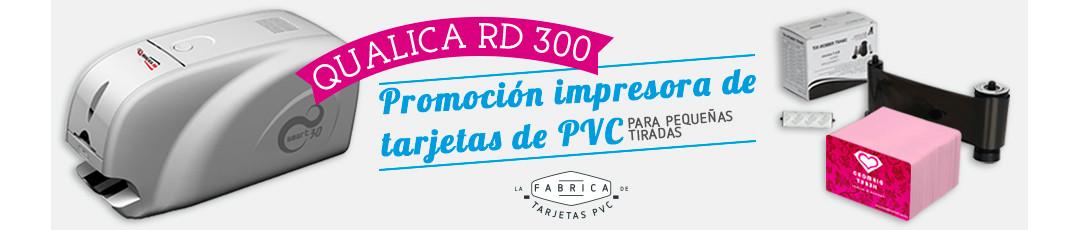 ¡Nueva promoción! Impresora de tarjetas Qualica-RD 300