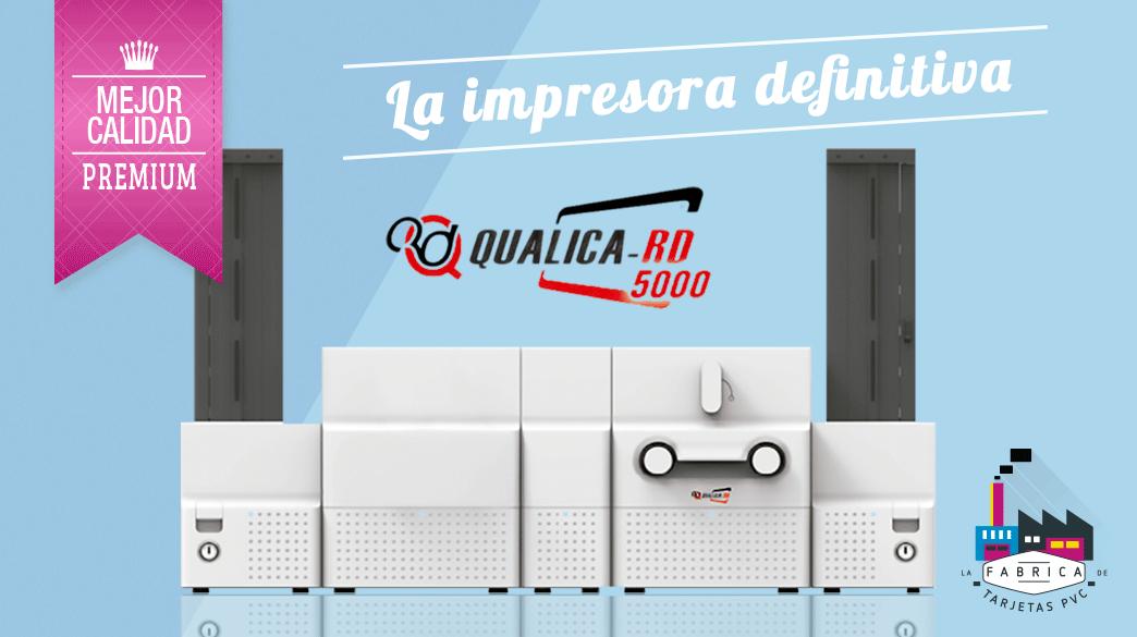 Impresora Tarjetas Pvc Qualica RD 5000