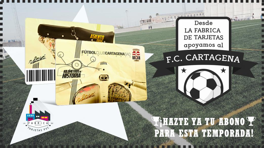 Abono de temporada F.C. Cartagena