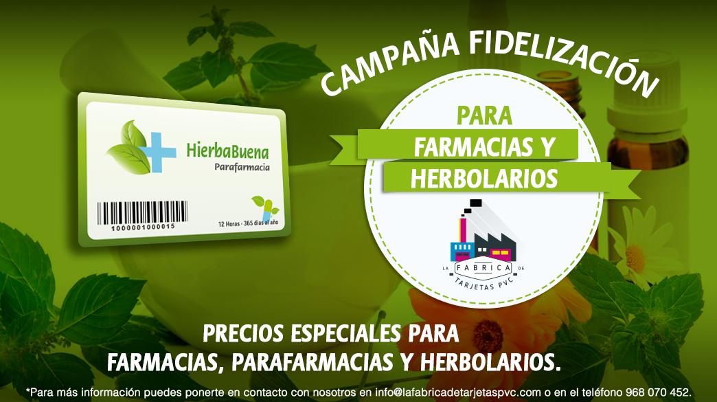 Campaña farmacias y herbolarios