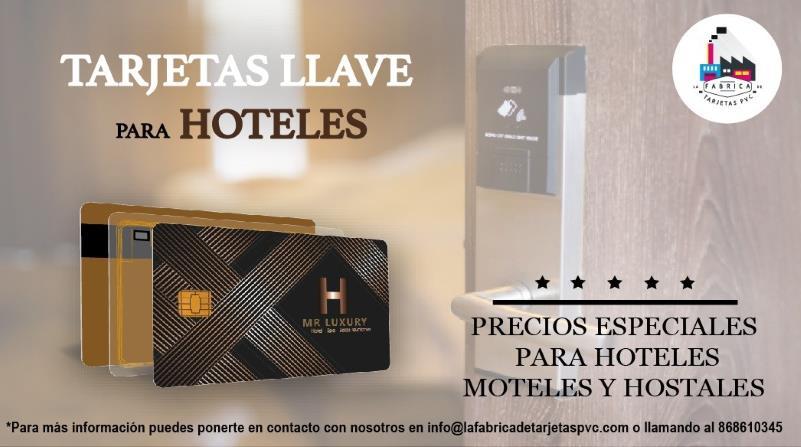 Tarjetas llave para hoteles