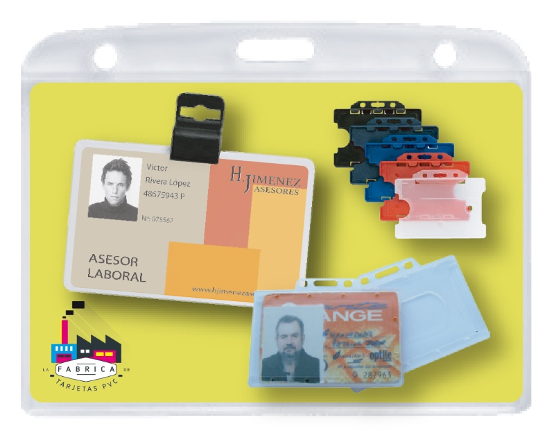 Fundas para tarjetas identificativas